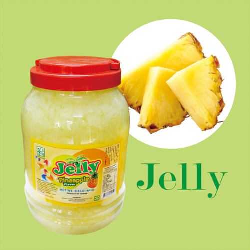 Pineapple Coconut Jelly